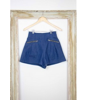 Short plissé 'Alicia Pageboy' - Taille S