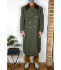 Manteau long d'inspiration militaire - Face