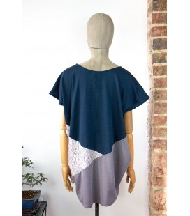 Top sans manches Furryrate oversize - Taille M