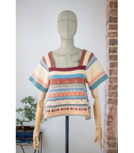 Pull manches courtes TSUMORI CHISATO - Face