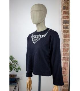 Pull  tricot COMME des GARÇONS - Trois quarts face