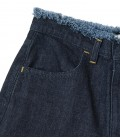 Jean 5 poches taille haute coupe large WHEIR Bobson