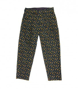 Pantalon large à pinces paisley THE NERDYS