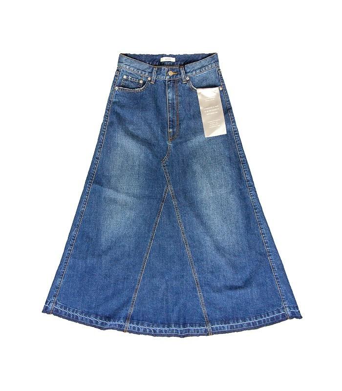 Jupe longue en jean WHEIR Bobson