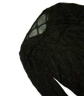 Gilet châle chauve souris 'LIMI feu' - Taille M