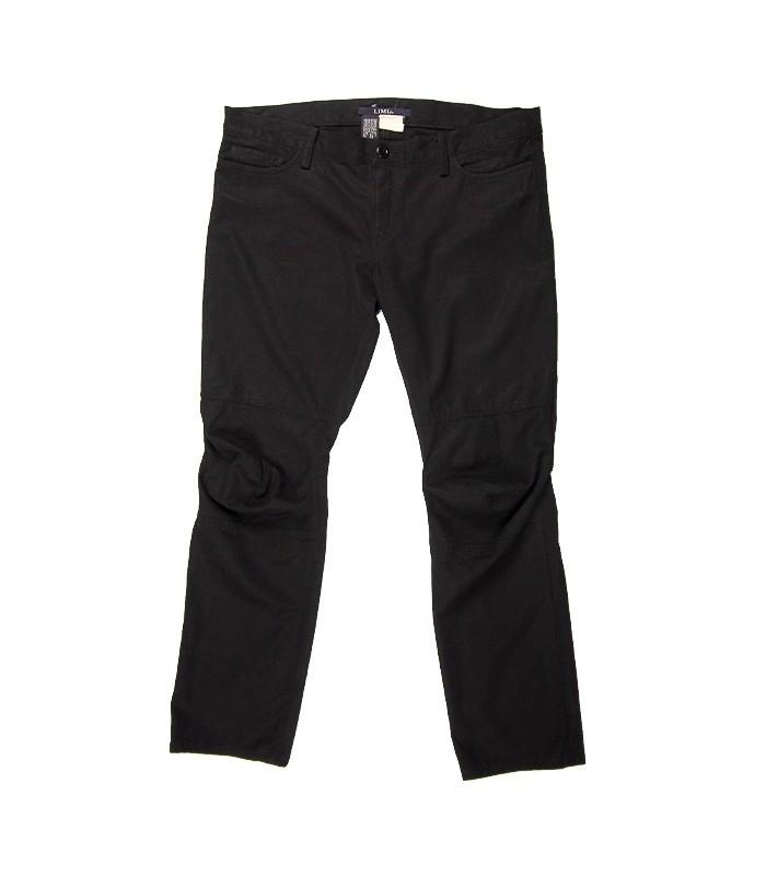 Pantalon 5 poches plissé aux genoux LIMI feu