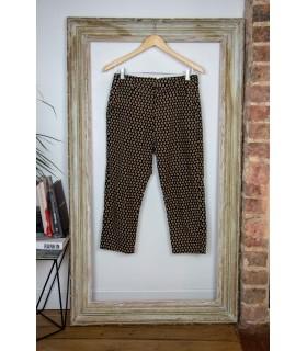 Pantalon souple 'Maison de Plage' - Taille S