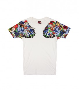 T-shirt Yakuza tattoo EVISU