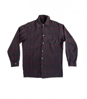 Chemise à carreaux Yohji Yamamoto Y's