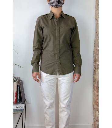 Chemise style militaire