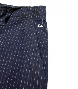 Pantalon large pinstripe 45 RPM