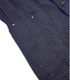 Veste workwear large Hickory stripe 45 RPM
