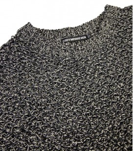 Pullover manches courtes en maille ISSEY MIYAKE