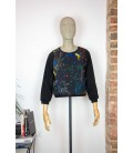 Sweat-shirt court 'Coquette' - Taille S